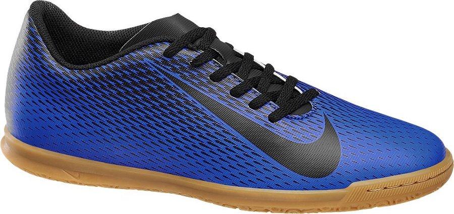 Modré kopačky - sálovky Bravata II, Nike - velikost 42 EU