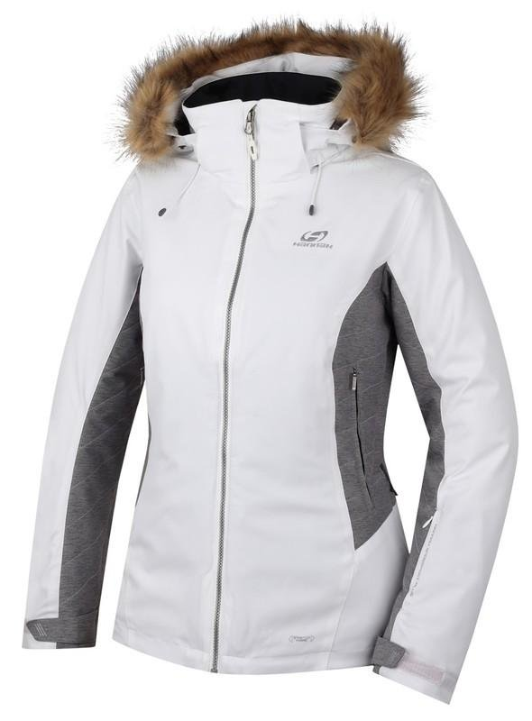 Bílá dámská lyžařská bunda Hannah - velikost 40