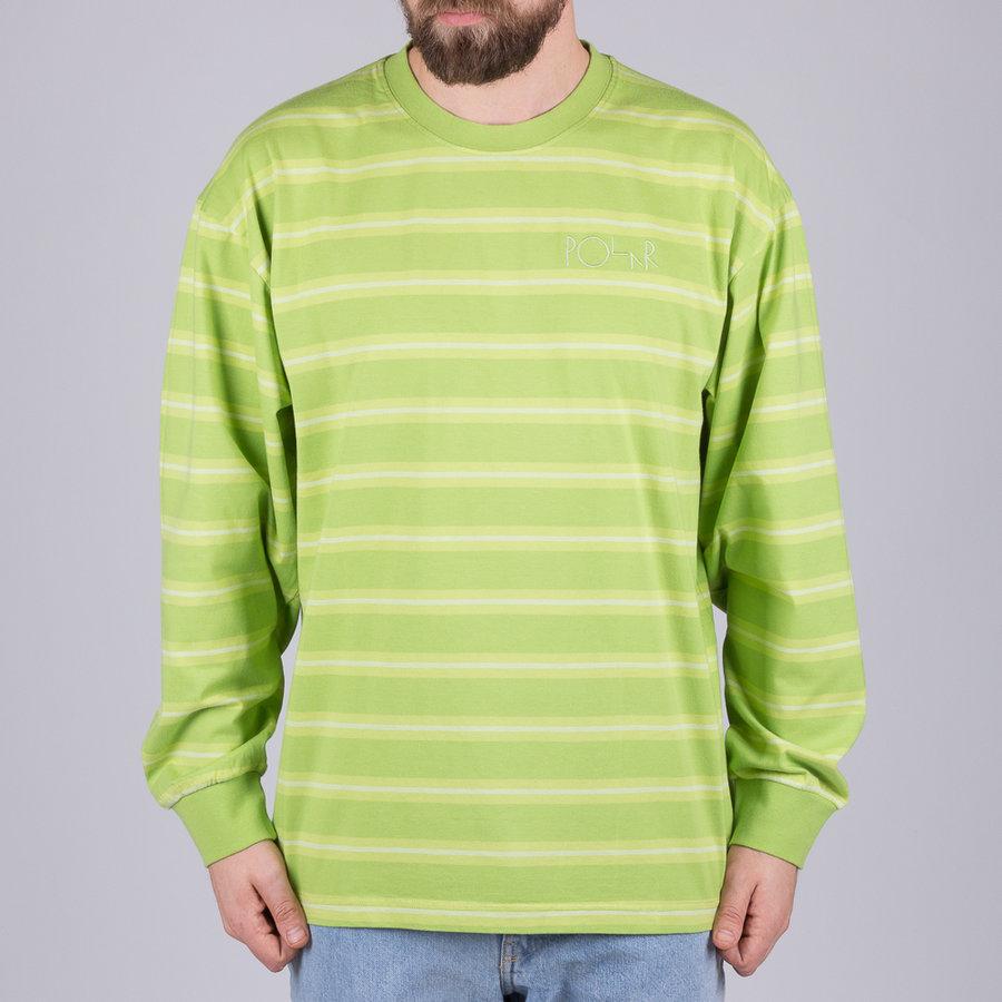 Zelené pánské tričko s dlouhým rukávem Polar Skate Co.
