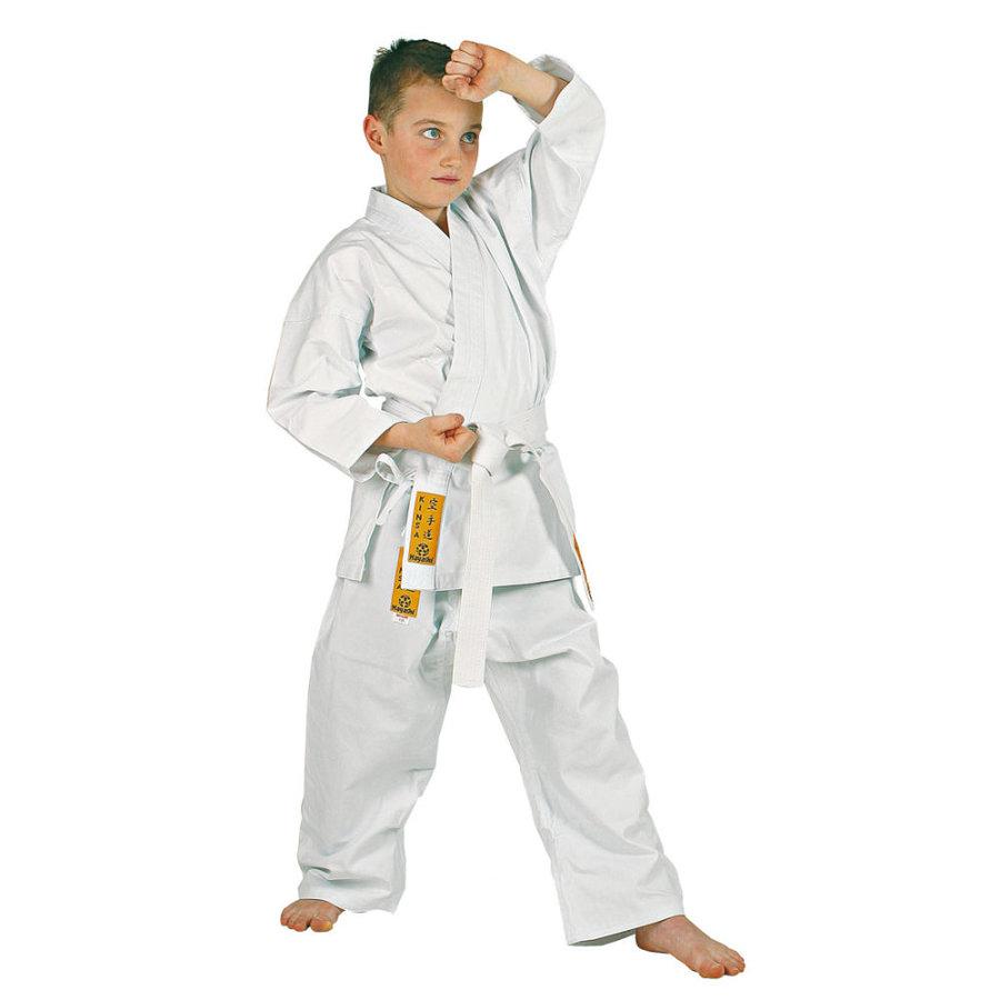 Bílé kimono na karate Hayashi