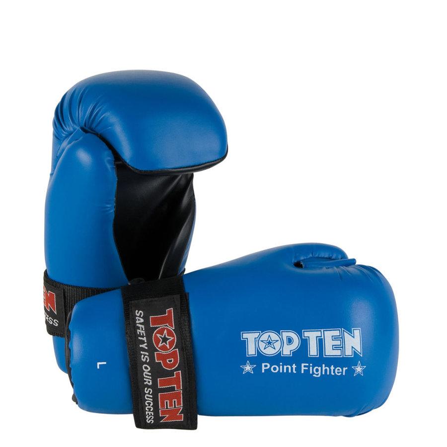 Modrá karate rukavice Top Ten