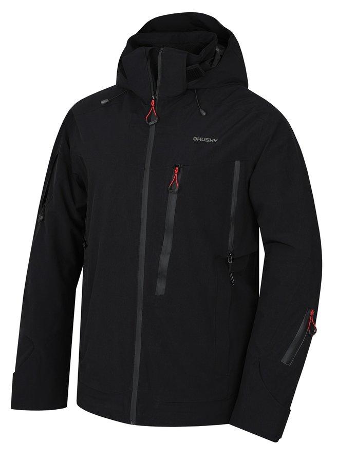 Černá pánská lyžařská bunda Husky - velikost XXL