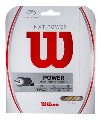 Tenisový výplet NXT Power, Wilson - délka 12,2 m