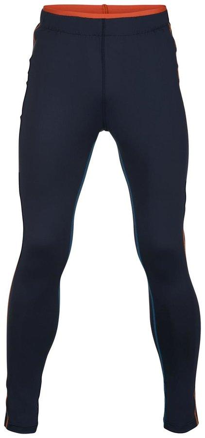 Modré pánské běžecké kalhoty Alpine Pro