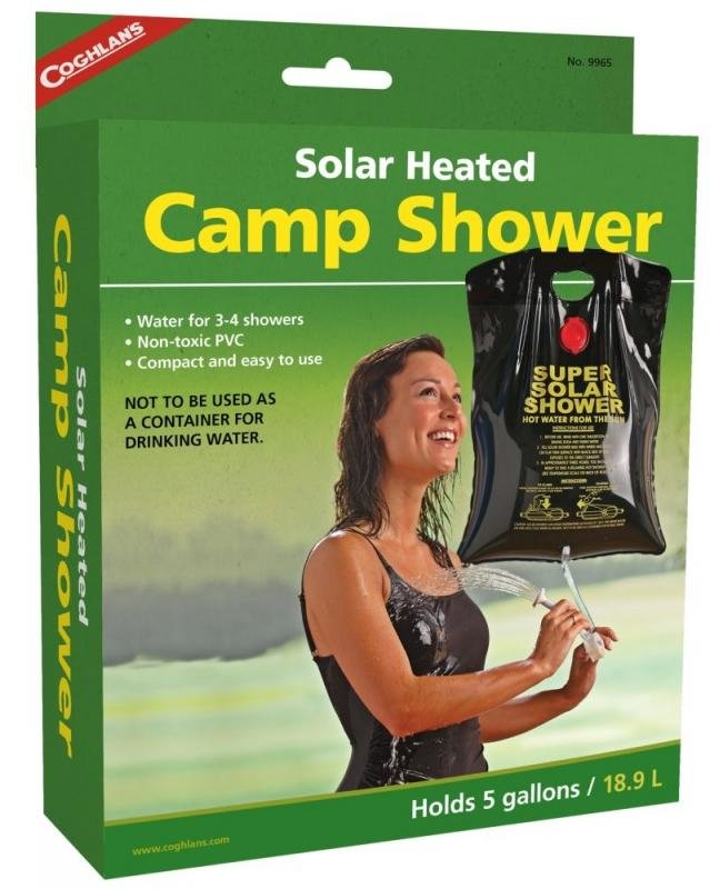 Solární sprcha Coghlans - objem 19 l
