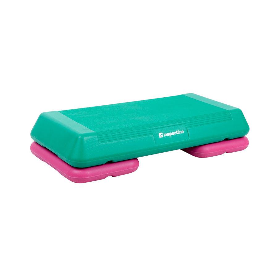 Zelený aerobic step inSPORTline