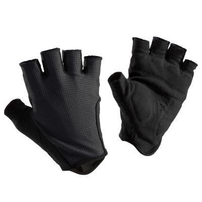 Černé cyklistické rukavice B'TWIN - velikost XXL