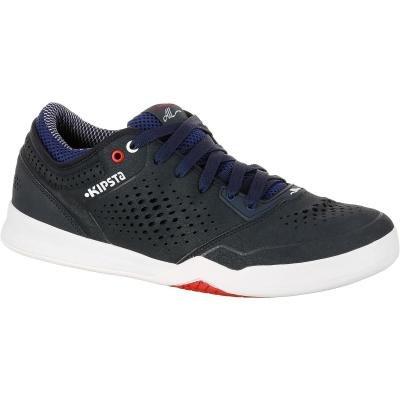 Bílo-černé basketbalové boty BBAll LOW, Kipsta - velikost 39 EU
