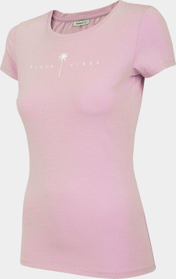 Fialové dámské tričko s krátkým rukávem Outhorn