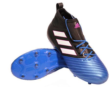 Černo-modré kopačky lisovky Ace 17.2 Primemesh FG, Adidas