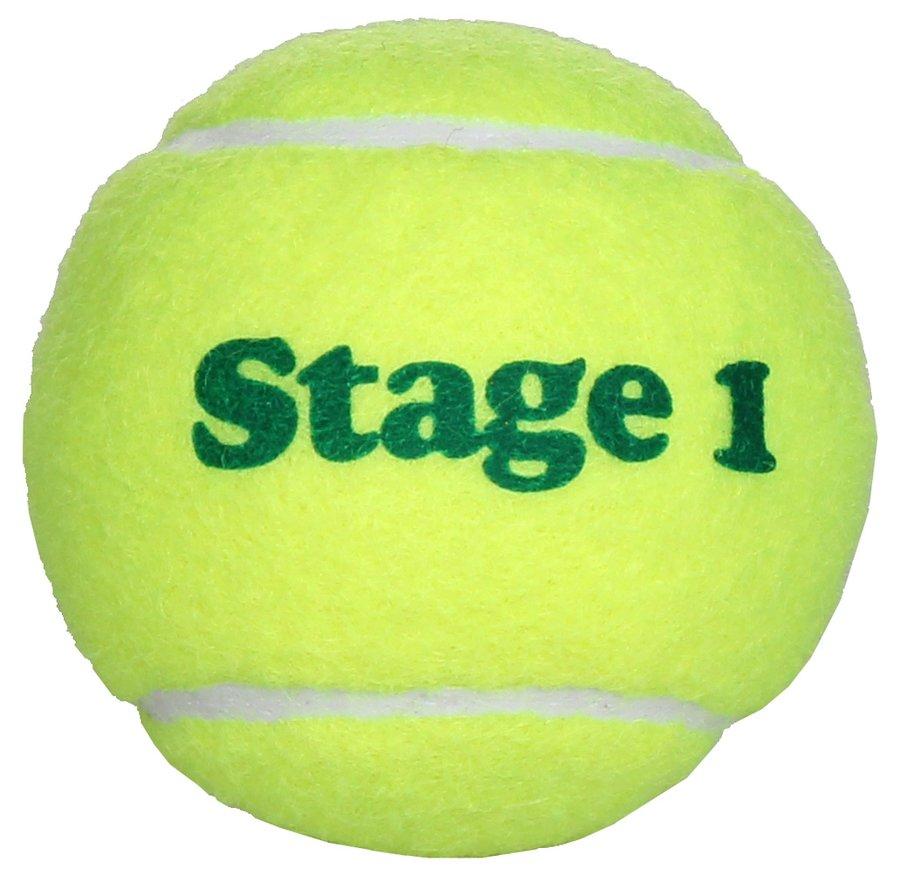 Tenisový míček Stage 1, Merco - 1 ks