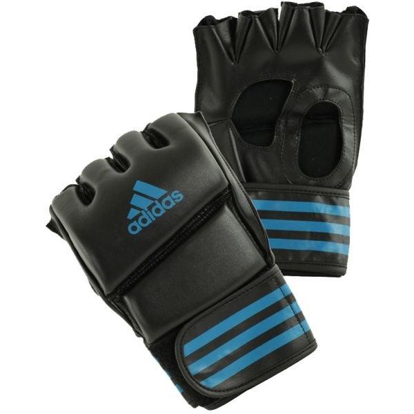 Černo-modré MMA rukavice Adidas