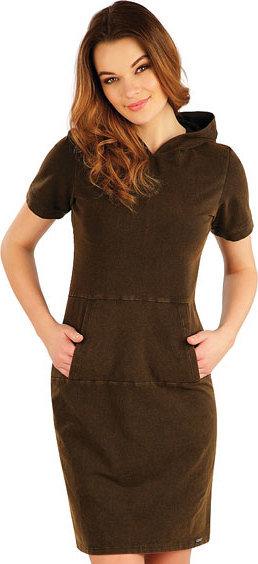Černé dámské šaty Litex