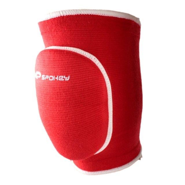Červené volejbalové chrániče na kolena Spokey - velikost L
