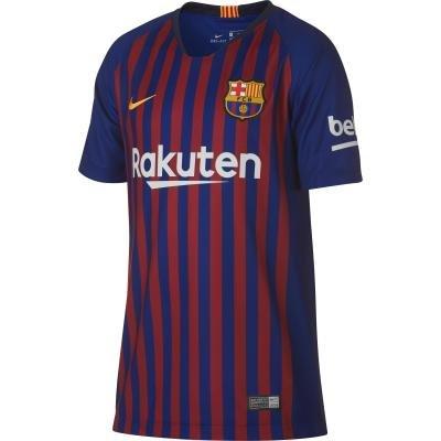 "Červeno-modrý fotbalový dres ""FC Barcelona"", Nike - velikost S"