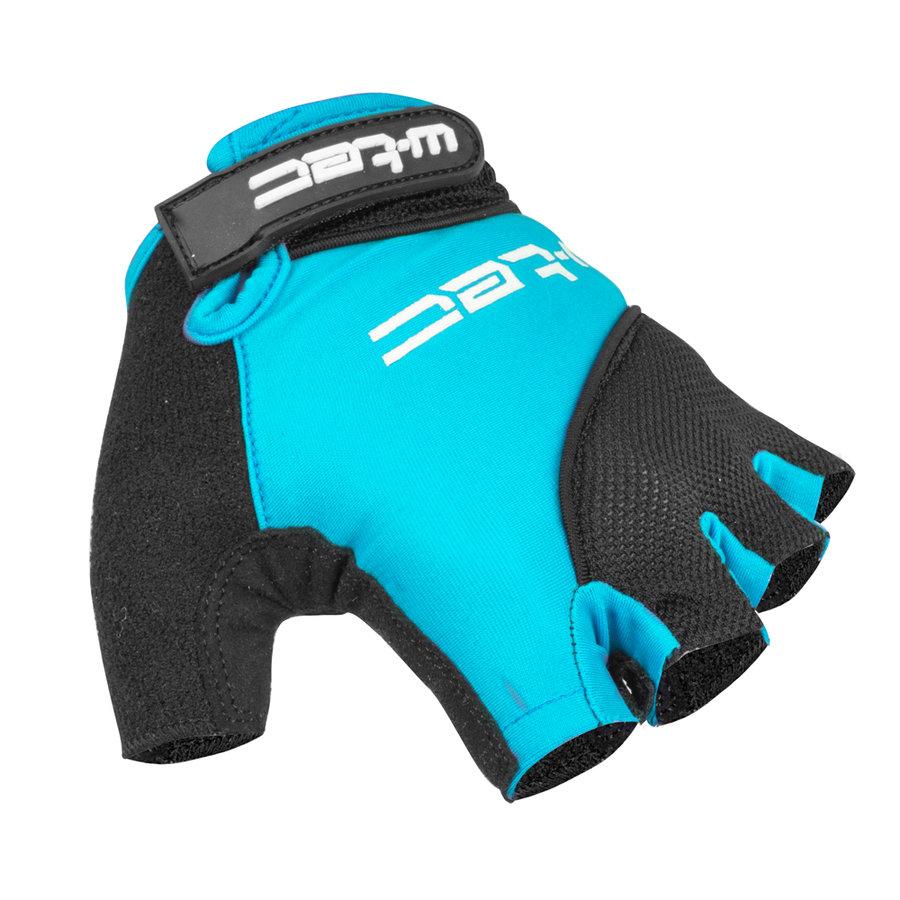 Černo-modré pánské cyklistické rukavice Sanmala AMC-1023-22, W-TEC