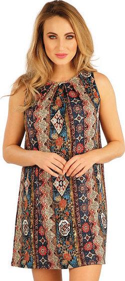 Hnědé dámské šaty Litex