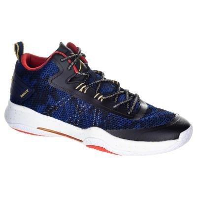Modré pánské basketbalové boty SC500 MID, Tarmak