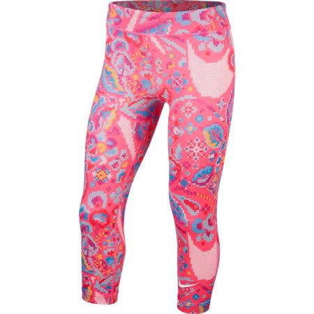 Růžové dívčí legíny Nike