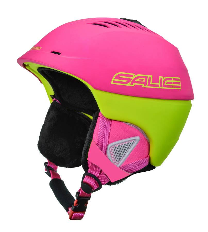 Růžová lyžařská helma 2117 of Sweden