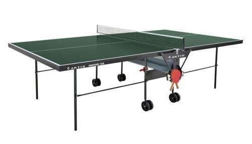 Zelený vnitřní stůl na stolní tenis 126, Artis