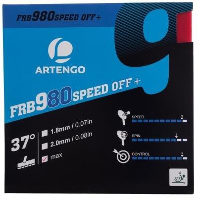 Červený potah na pálku FRB 980 Speed 37°, Artengo