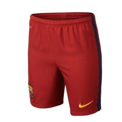 """Červené dětské fotbalové kraťasy """"FC Barcelona"""", Nike"""