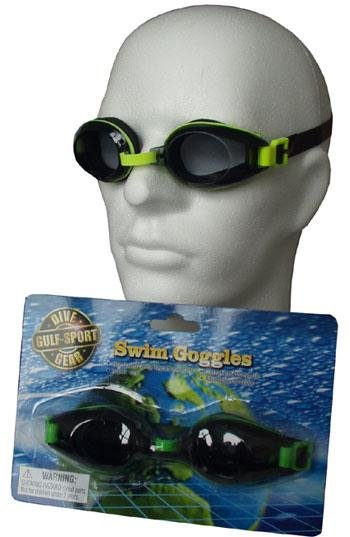 Černé plavecké brýle P1161, Acra