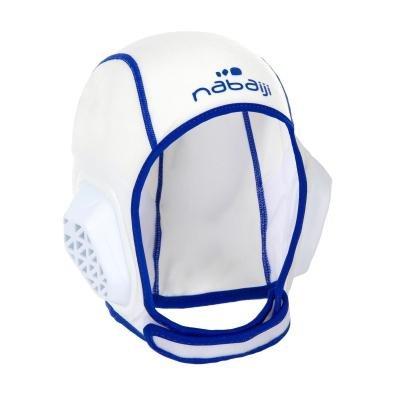 Bílá čepice na vodní pólo Nabaiji