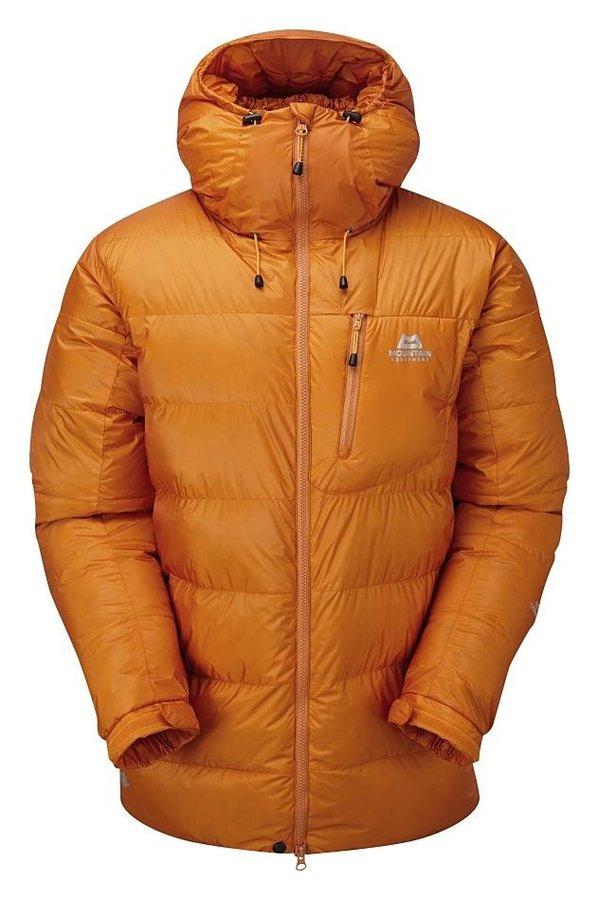 Oranžová zimní pánská turistická bunda Mountain Equipment