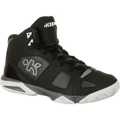 Černé dětské basketbalové boty Strong 300, Tarmak - velikost 28 EU
