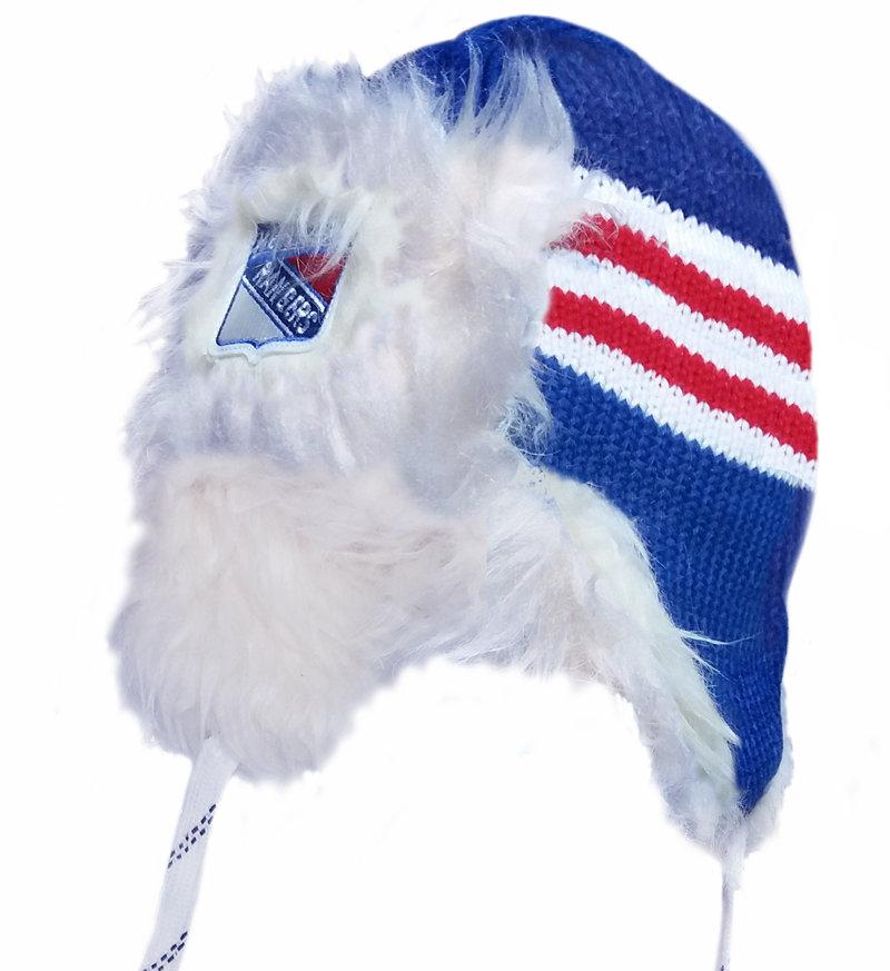 """Modrá beranice """"New York Rangers"""", Reebok"""