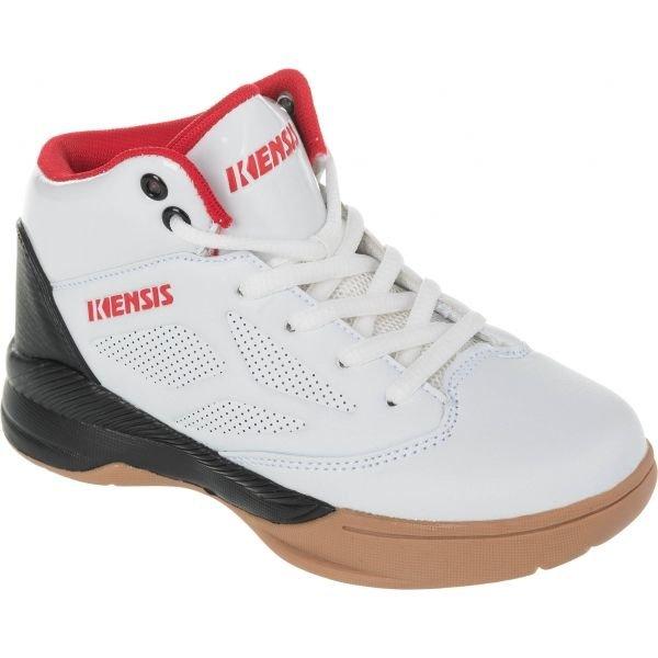 Bílé dětské basketbalové boty Kensis