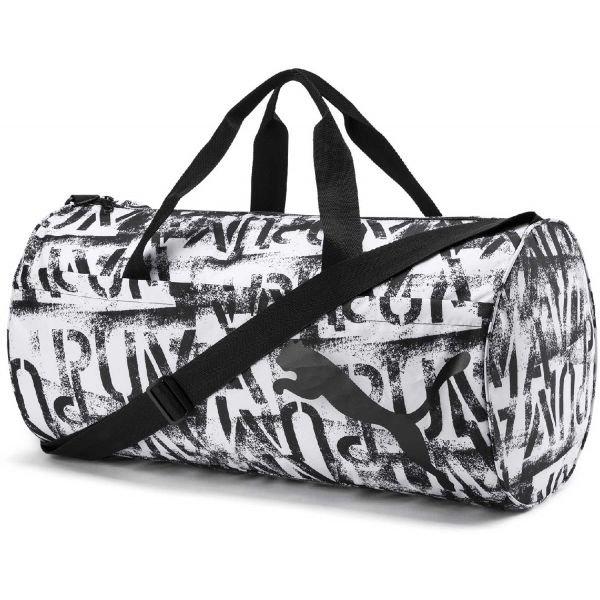 Bílá dámská sportovní taška Puma - objem 38 l