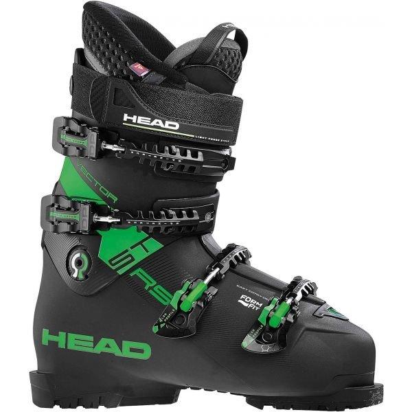 Černé pánské lyžařské boty Head - velikost vnitřní stélky 28 cm