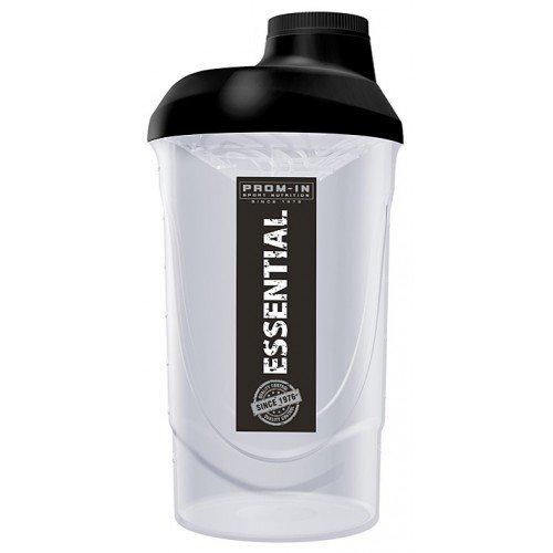 Bílo-černý shaker Prom-IN - objem 600 ml