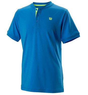 Modré dětské chlapecké nebo dívčí tenisové tričko Wilson