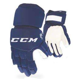 Modré hokejbalové rukavice CCM - velikost XXS