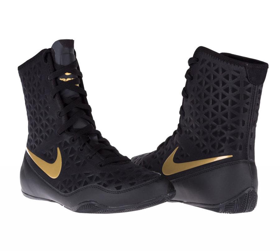 Černé boxerské boty KO, Nike - velikost 37,5 EU