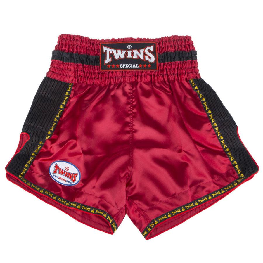Červené thaiboxerské trenky Twins - velikost S