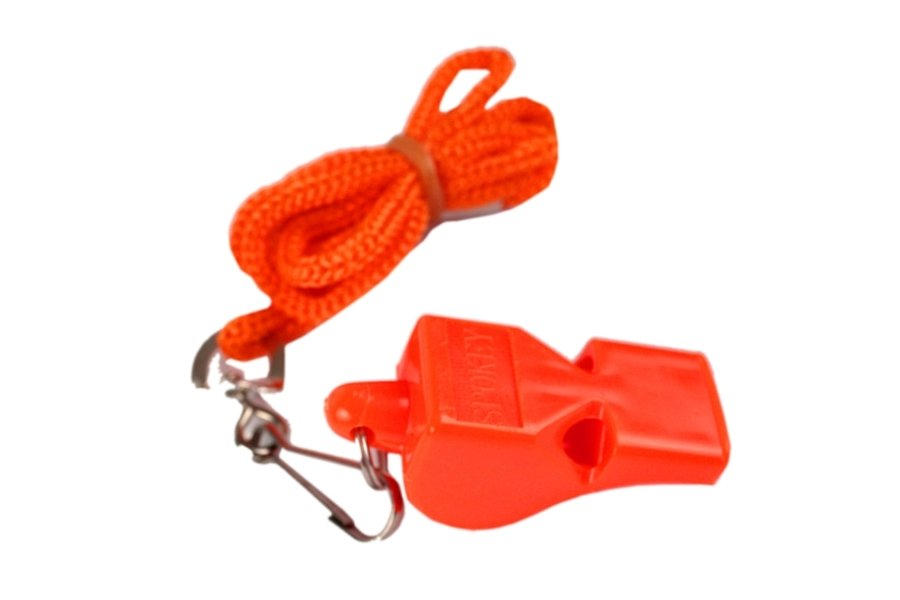 Píšťalka pro rozhodčího - Píšťalka plastová SPOKEY Mayday oranžová
