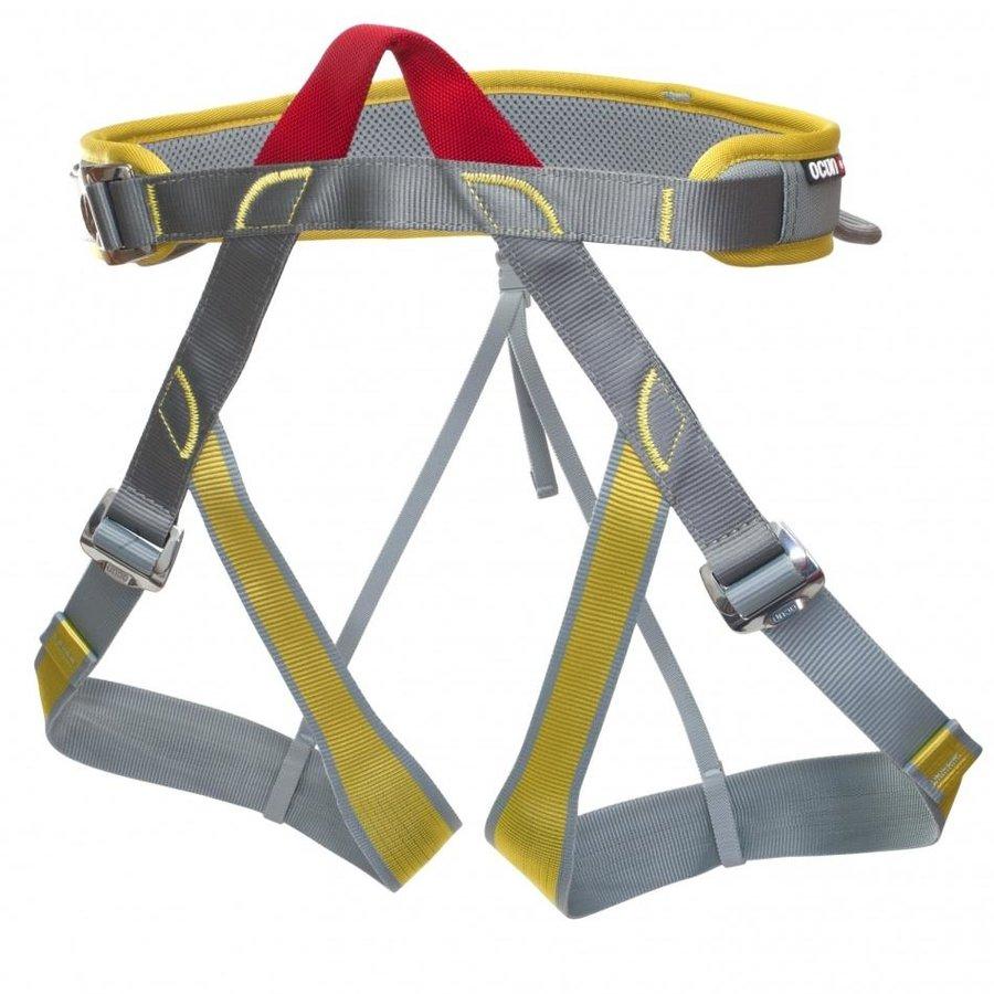 Šedo-žlutý horolezecký úvazek Newton, Ocún