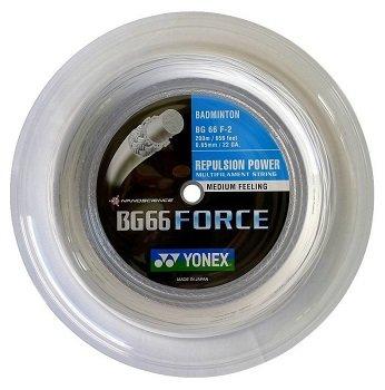 Badmintonový výplet BG66 Force, Yonex - průměr 0,65 mm