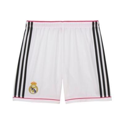 "Bílé dětské fotbalové kraťasy ""Real Madrid CF"", Adidas - velikost 133"