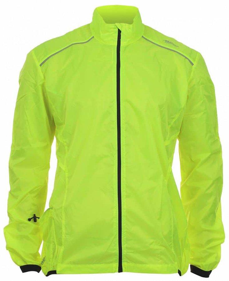 Žlutá pánská nebo dámská cyklistická bunda Avento