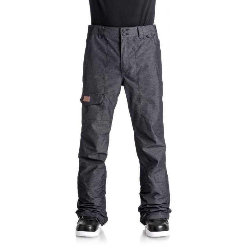 Černé pánské snowboardové kalhoty DC