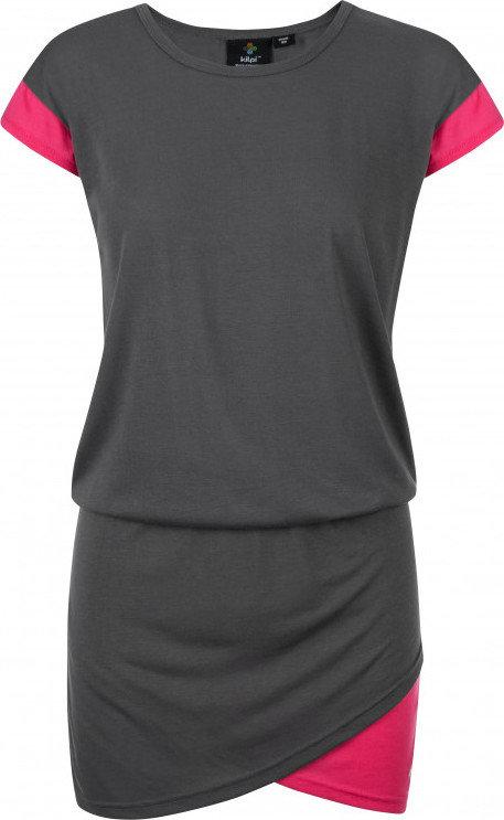 Šedé dámské šaty Kilpi - velikost 36