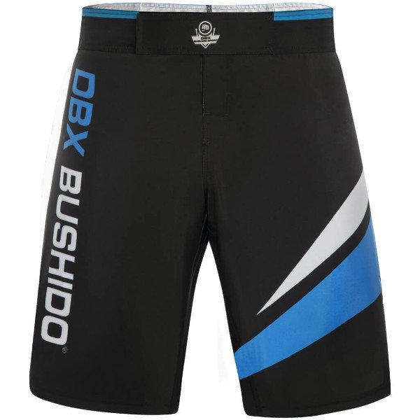 Černo-modré MMA kraťasy Bushido