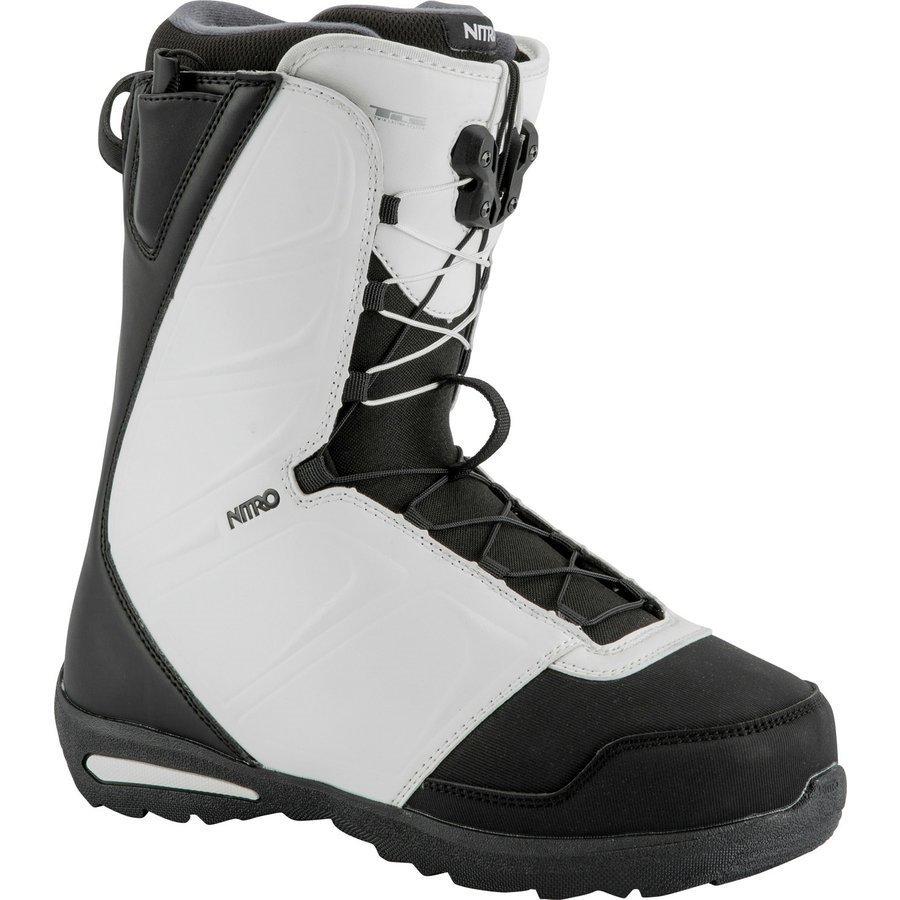 Bílé boty na snowboard Nitro