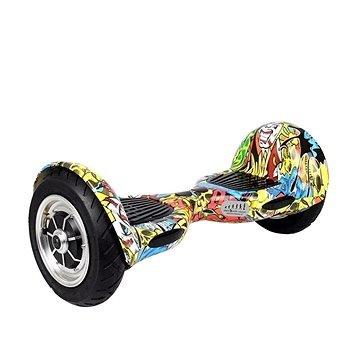 Různobarevný hoverboard Kolonožka